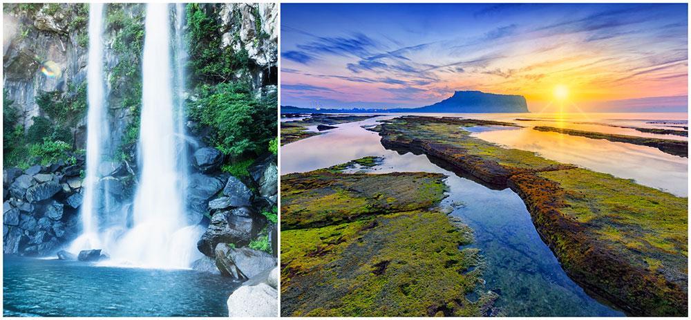 Njut av sydkoreanska ön Jejus fantastiska landskap.