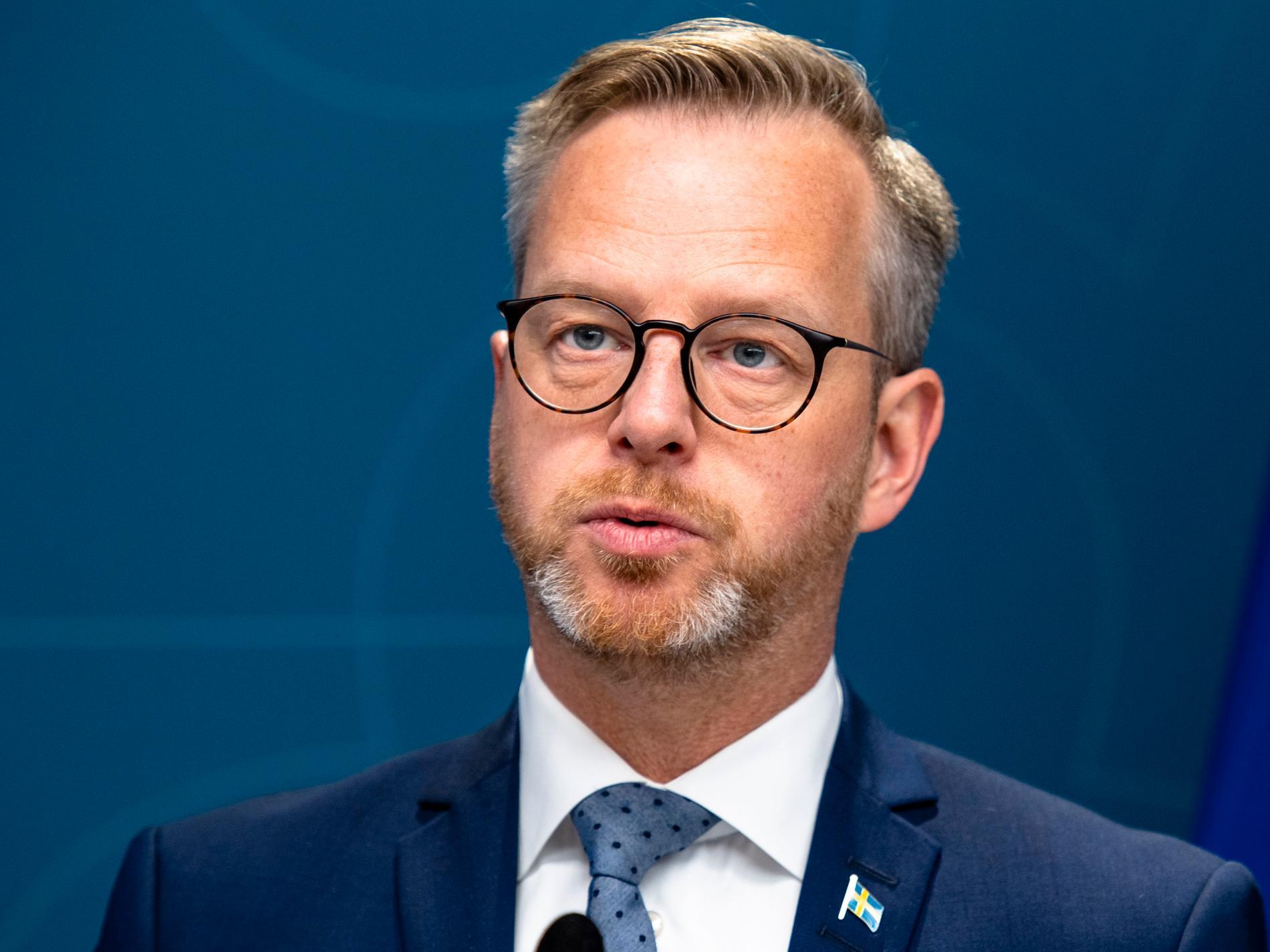 Inrikesminister Mikael Damberg (S).