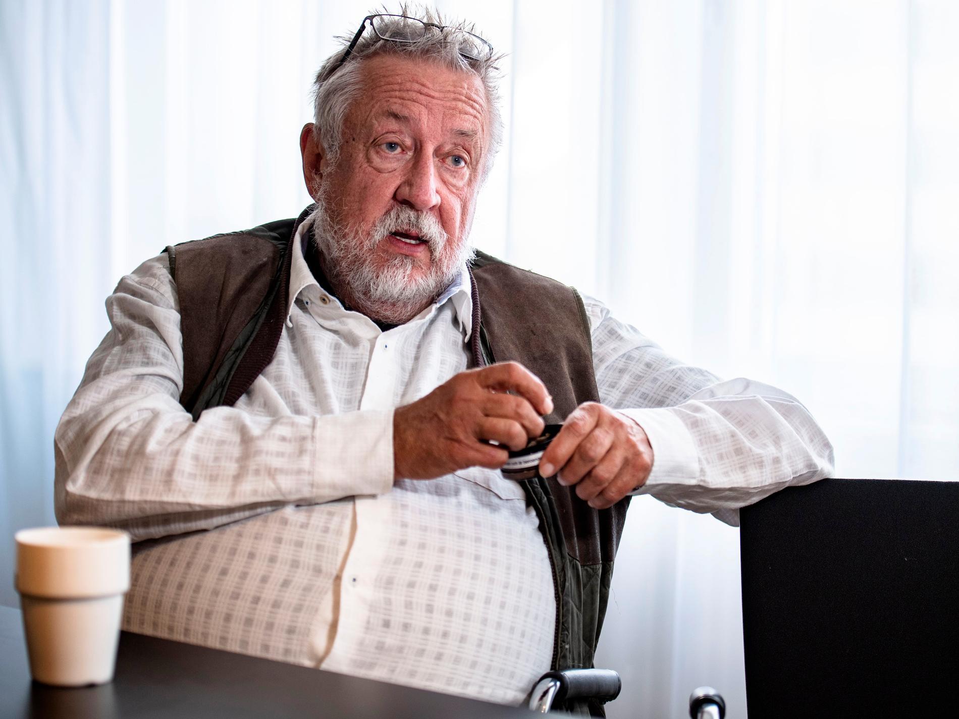 """""""Jag är 76 och ekonomiskt oberoende"""", säger GW."""