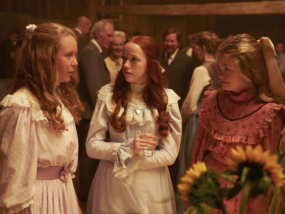 """Miranda McKeon i serien """"Jag heter Anne"""""""