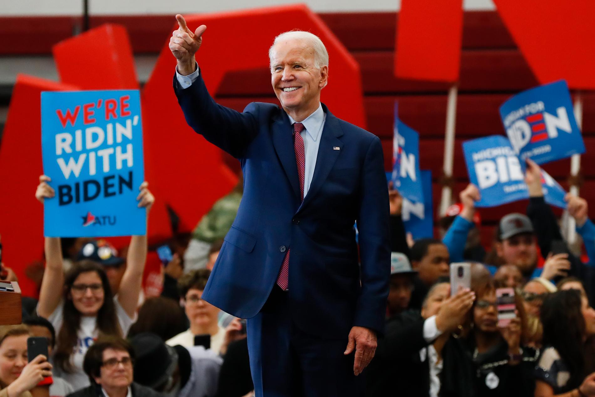 Demokraternas presidentaspirant Joe Biden har pratat i telefon med USA:s president Donald Trump. Arkivbild.