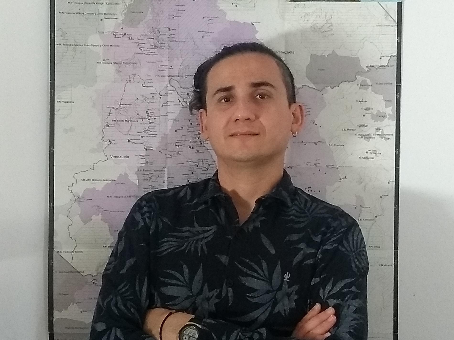 Jesem Orellana, epidemiolog vid det brasilianska folkhälsoinstitutet Fiocruz.