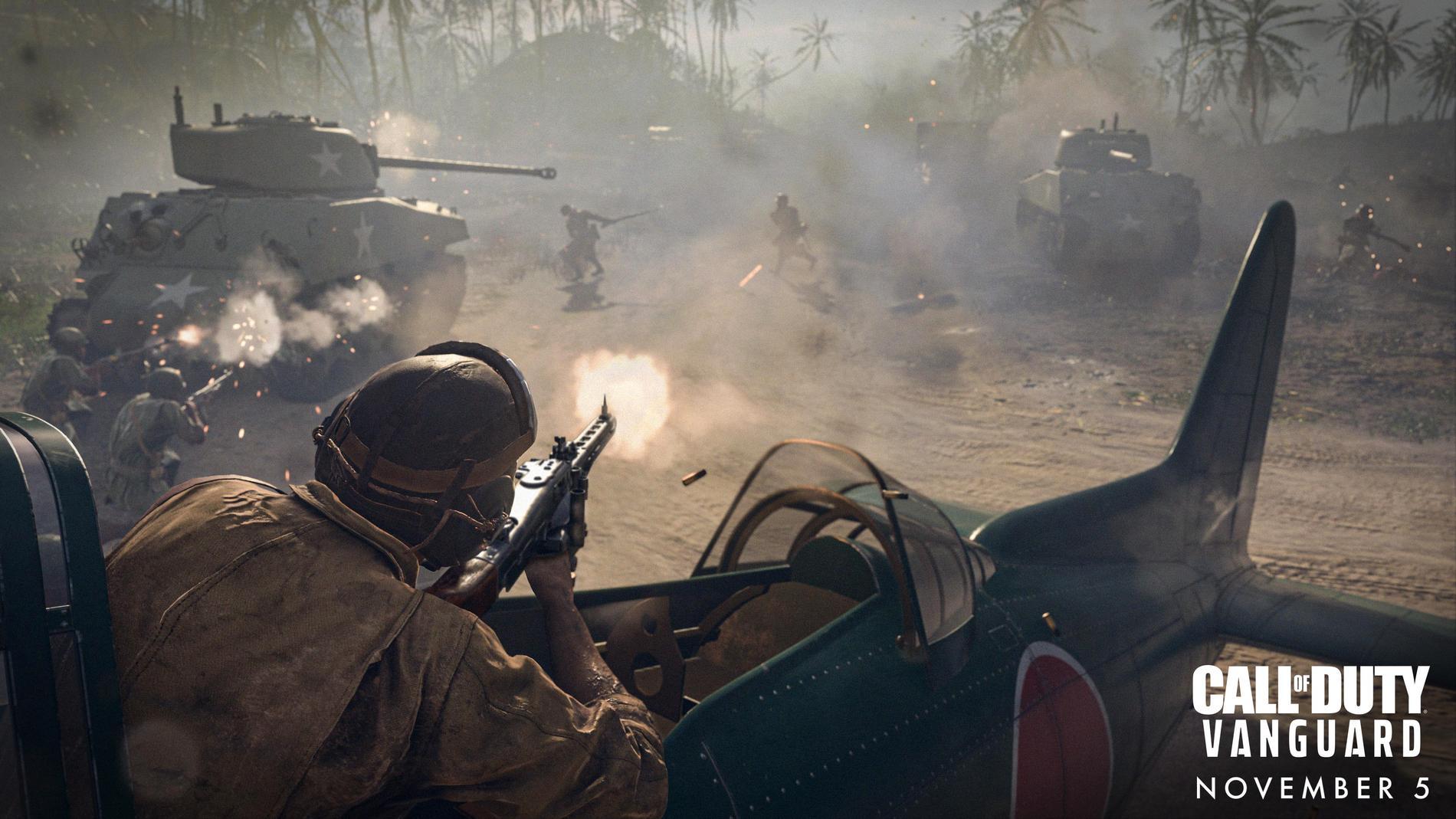 Call of Duty Vanguard släpps i början av november.