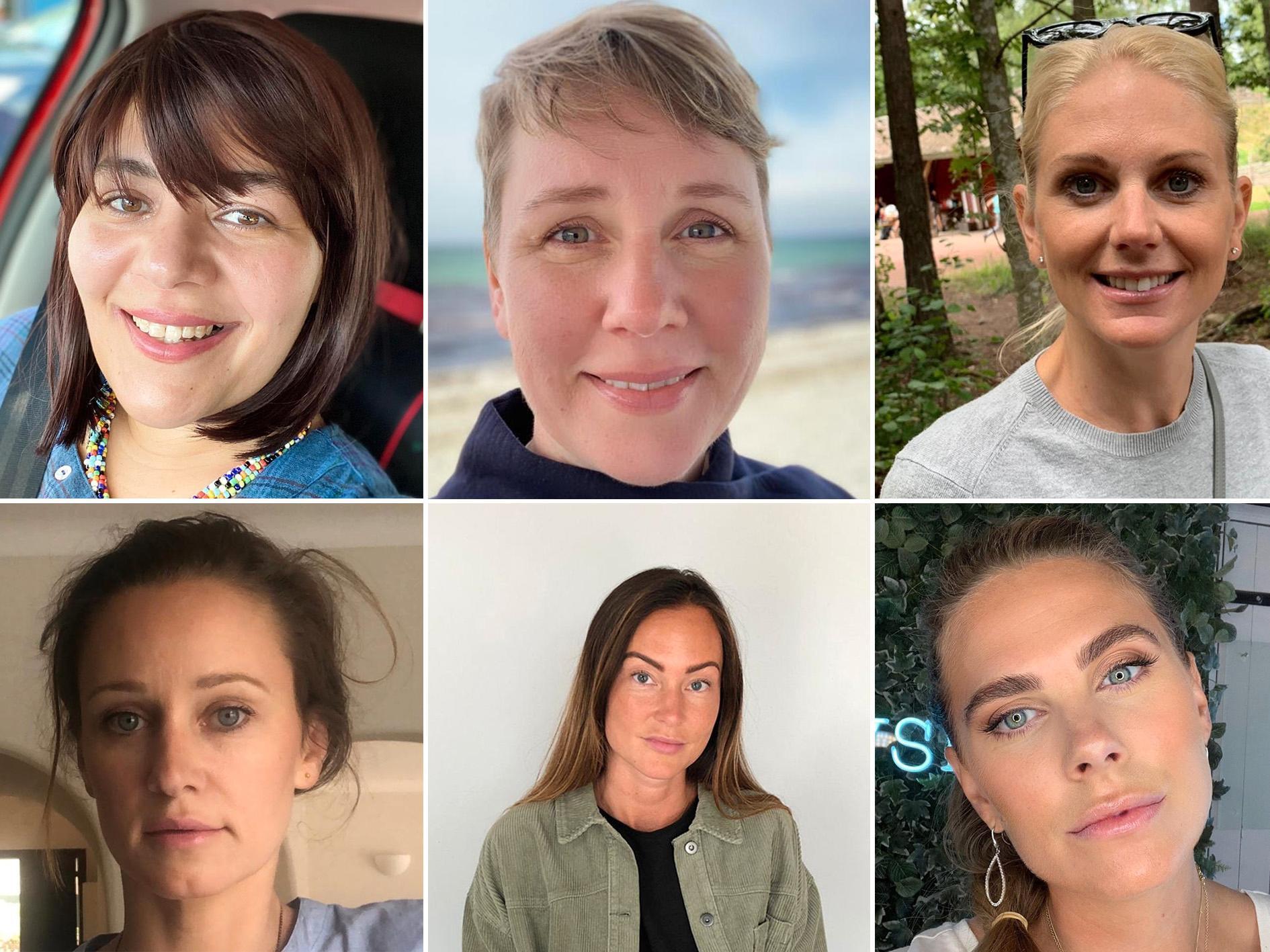 Alla mammorna Jasmine Fremdehake, Anna Lindskog, Kristina Ekberg, Pauline Ljung, Karolina Dahlberg och Madeleine Jonsson. Lisa Goldhed är ej med på bild.