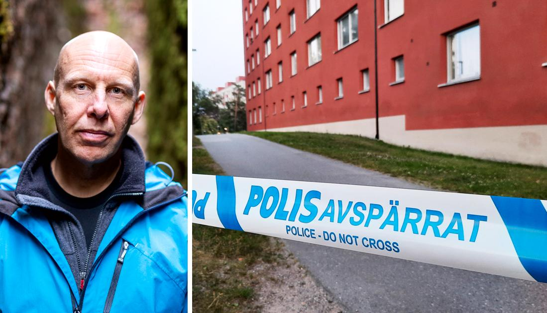 Polisens beskrivningar av utfallet och effekterna av olika insatser har varit missvisande och ofta direkt felaktiga, skriver Stefan Holgersson, som bott 19 år i Visättra.