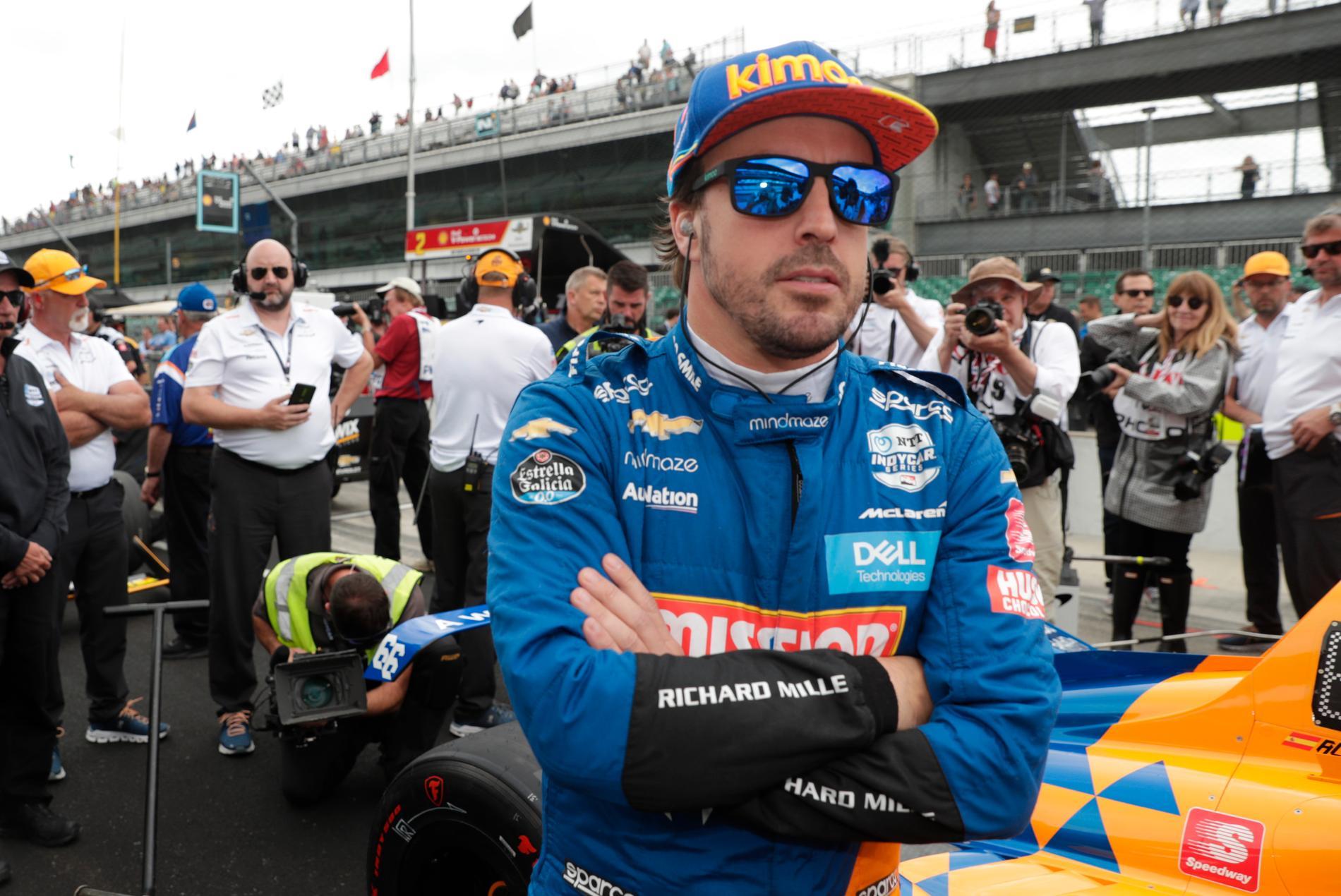 Fernando Alonso gör comeback i F1, enligt flera medier. Arkivbild.