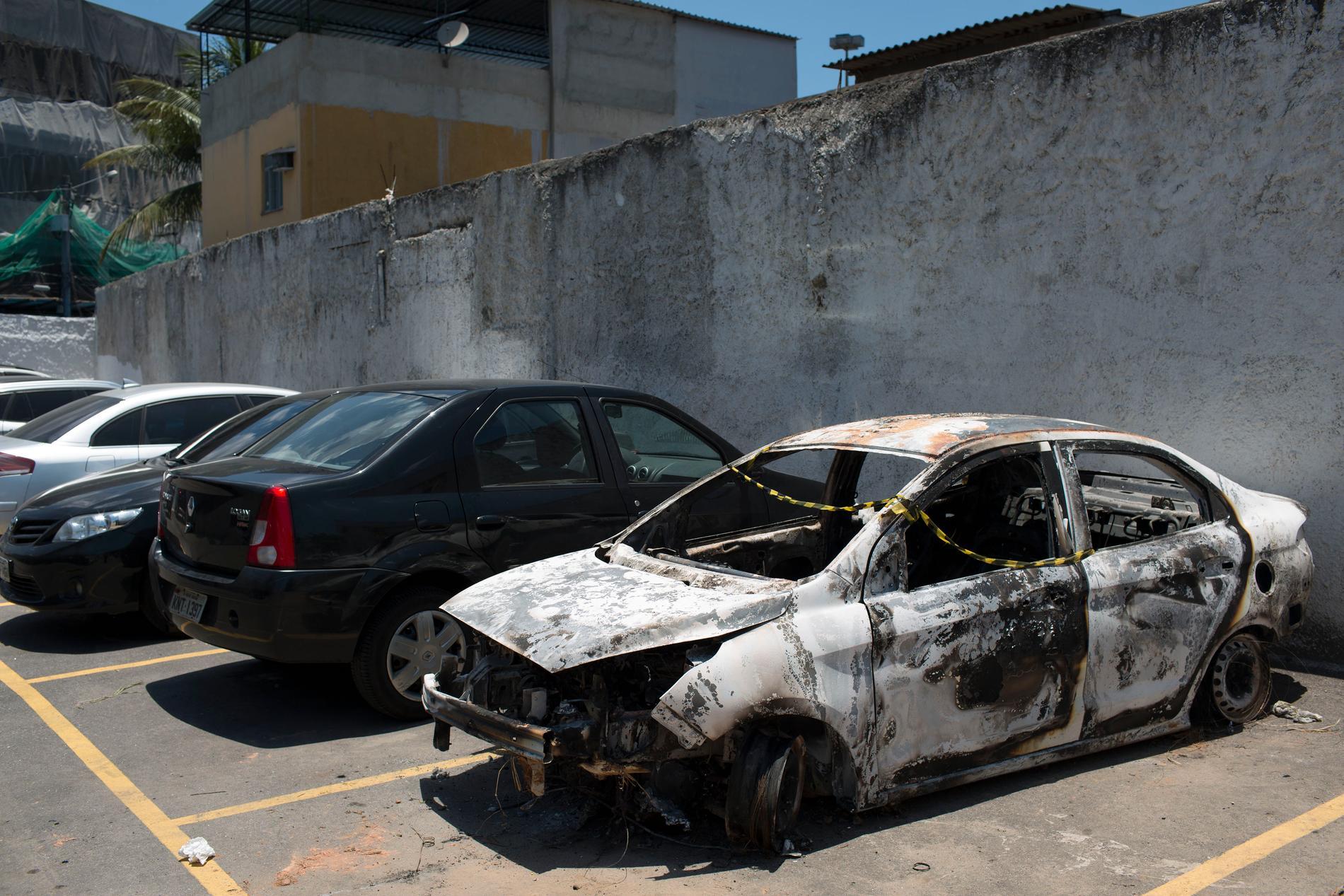 Greklands ambassadör i Brasilien hittades mördad i en utbränd bil i december 2016. Arkivbild.