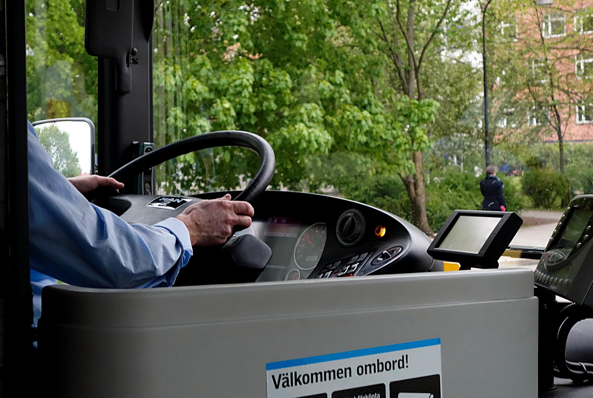 En busschaufför/arkivbild.