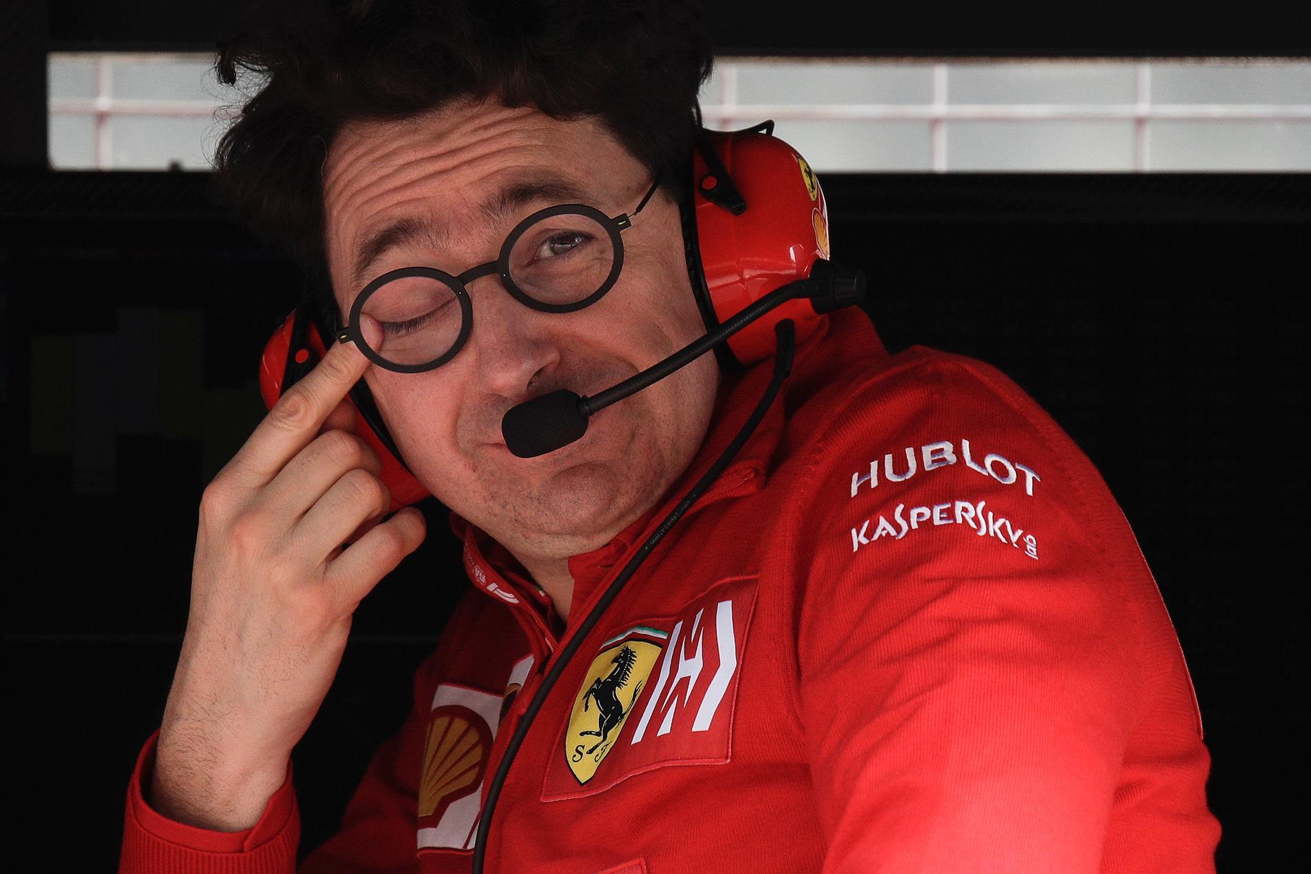 Ferraris Mattia Binotto har ställt frågan till IndyCar.