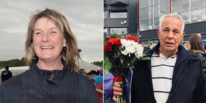För ett år sedan förlorade amatörtränaren Anna-Lena Waldén sin far – delägaren och mycket travintresserade Roland Nilsson.