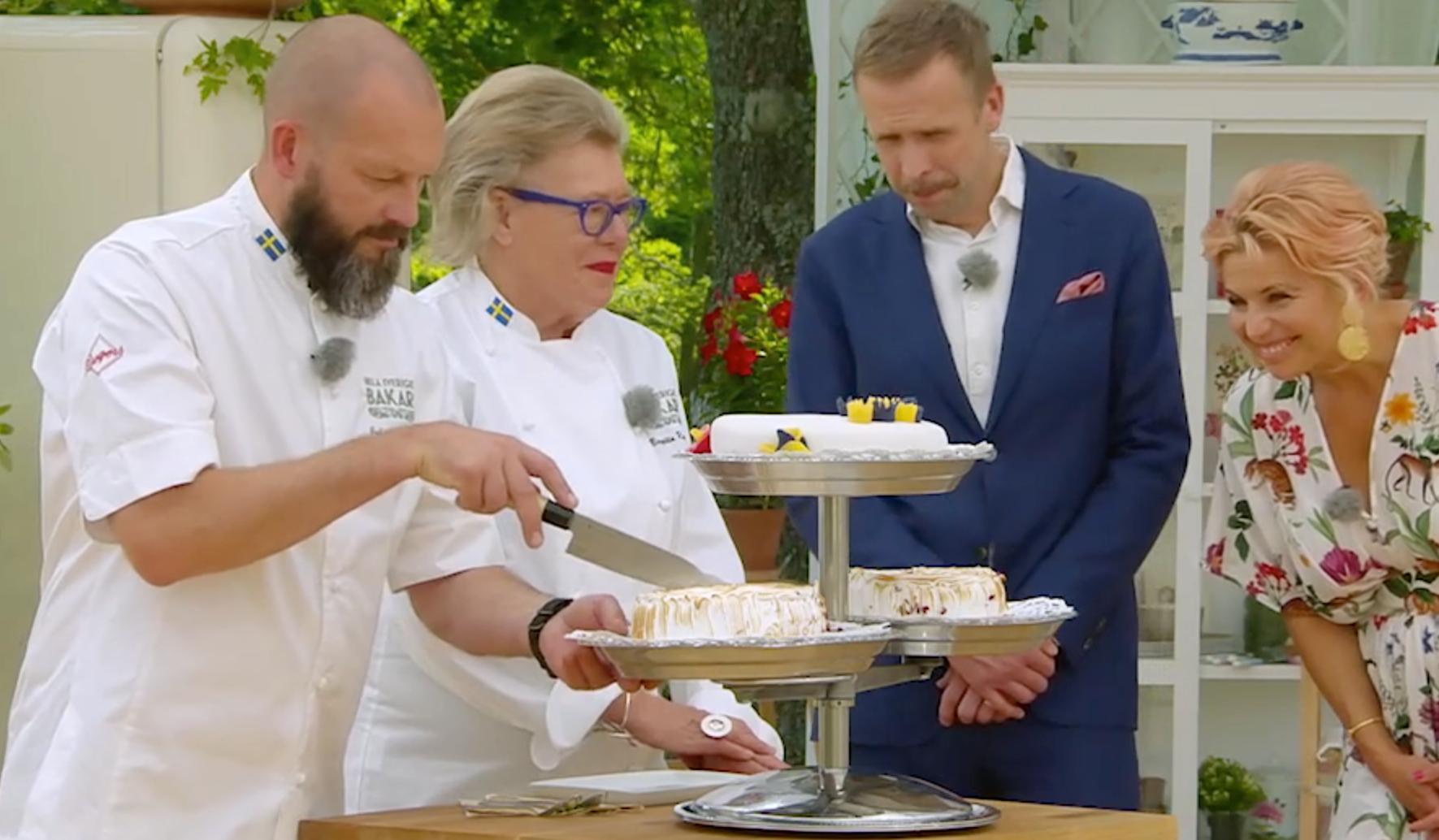 Juryn ska bedöma Ingemarsdotters och Södergrens finaltårta.