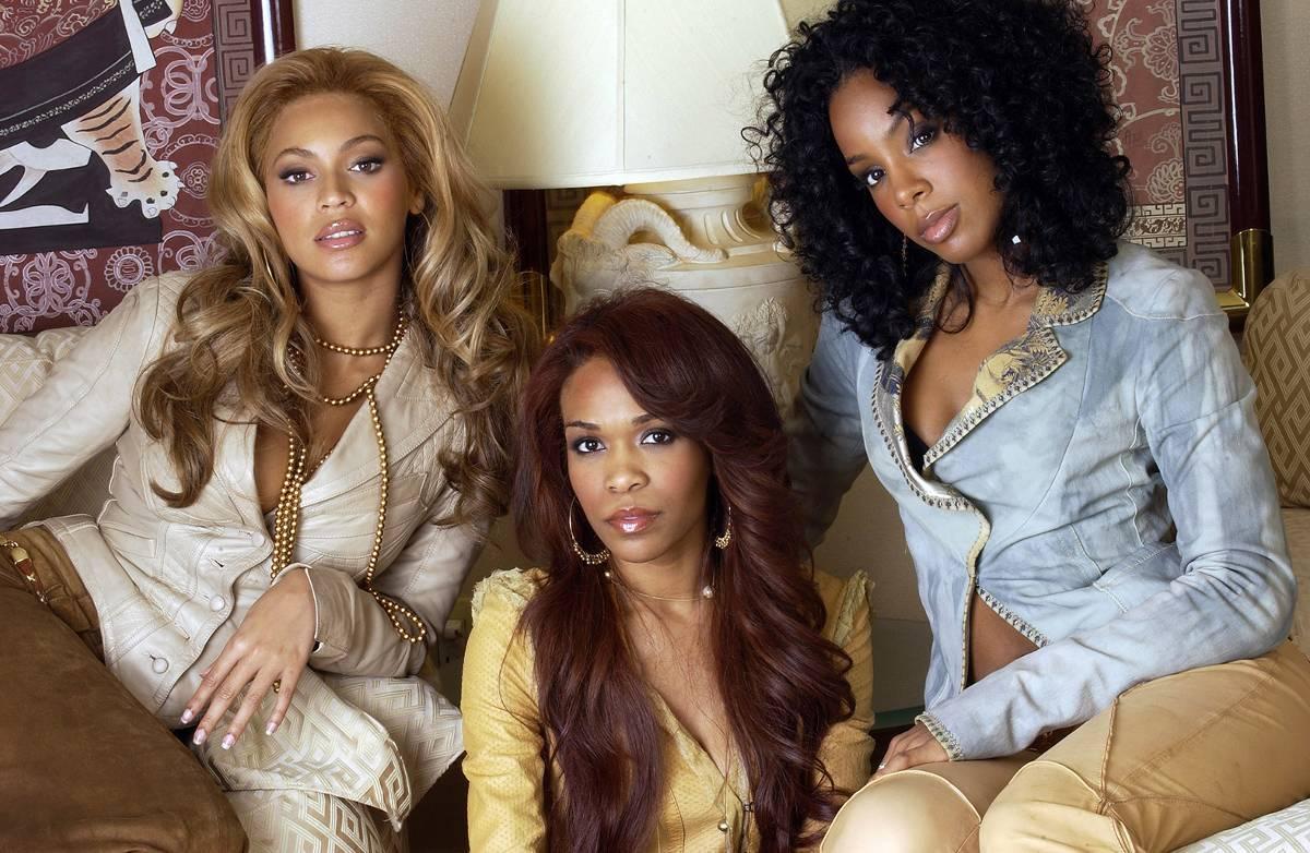 """Beyoncé, Michelle Williams och Kelly Rowland hade en lång och framgångsrik karriär med """"Destiny's child"""". Här på en bild från 2004."""