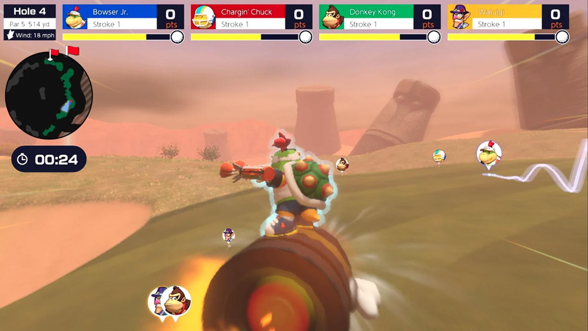 I sann Nintendo-anda handlar det förstås inte bara om att springa till bollen.