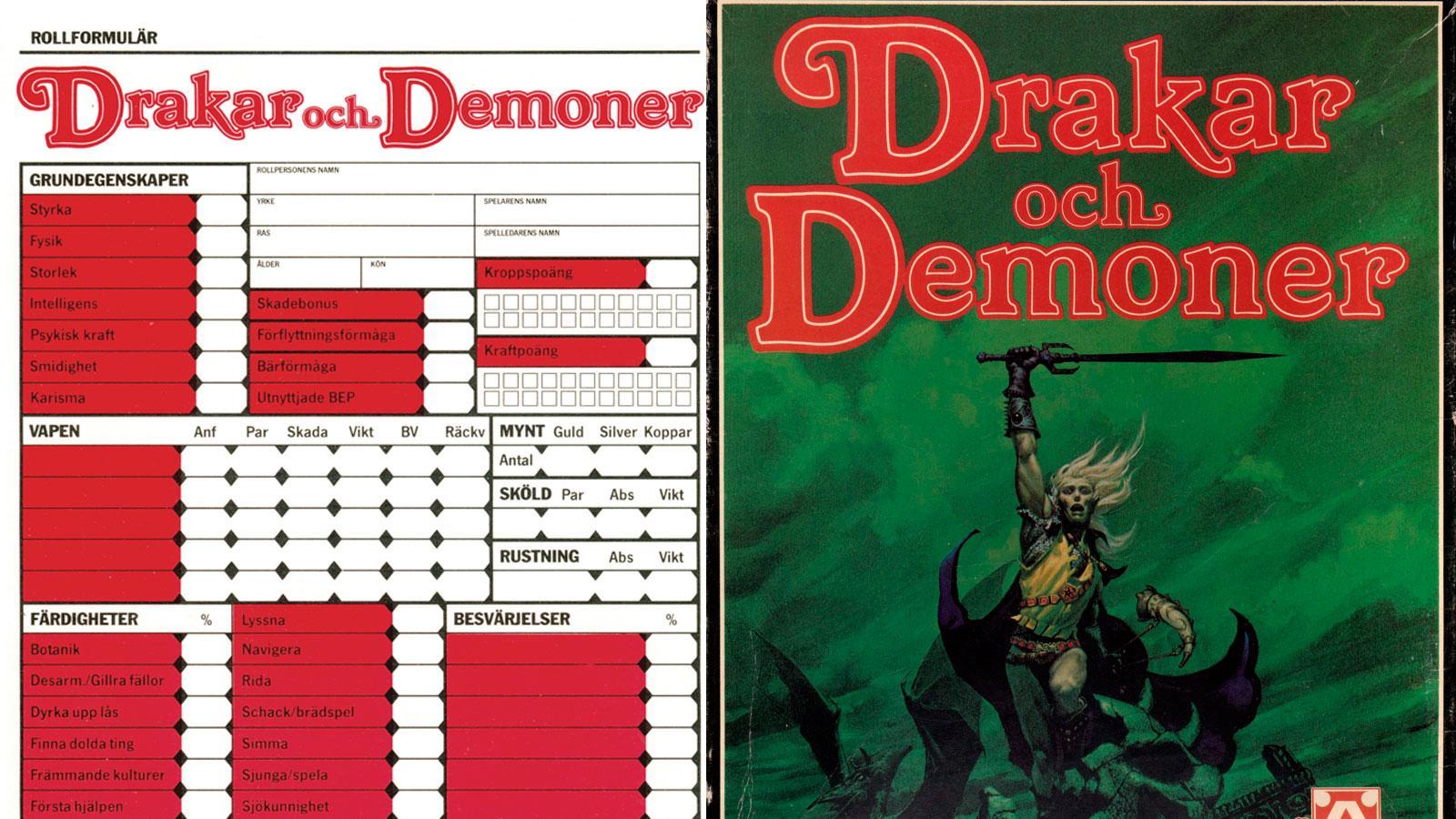 Drakar och demoner gör comeback 2022.