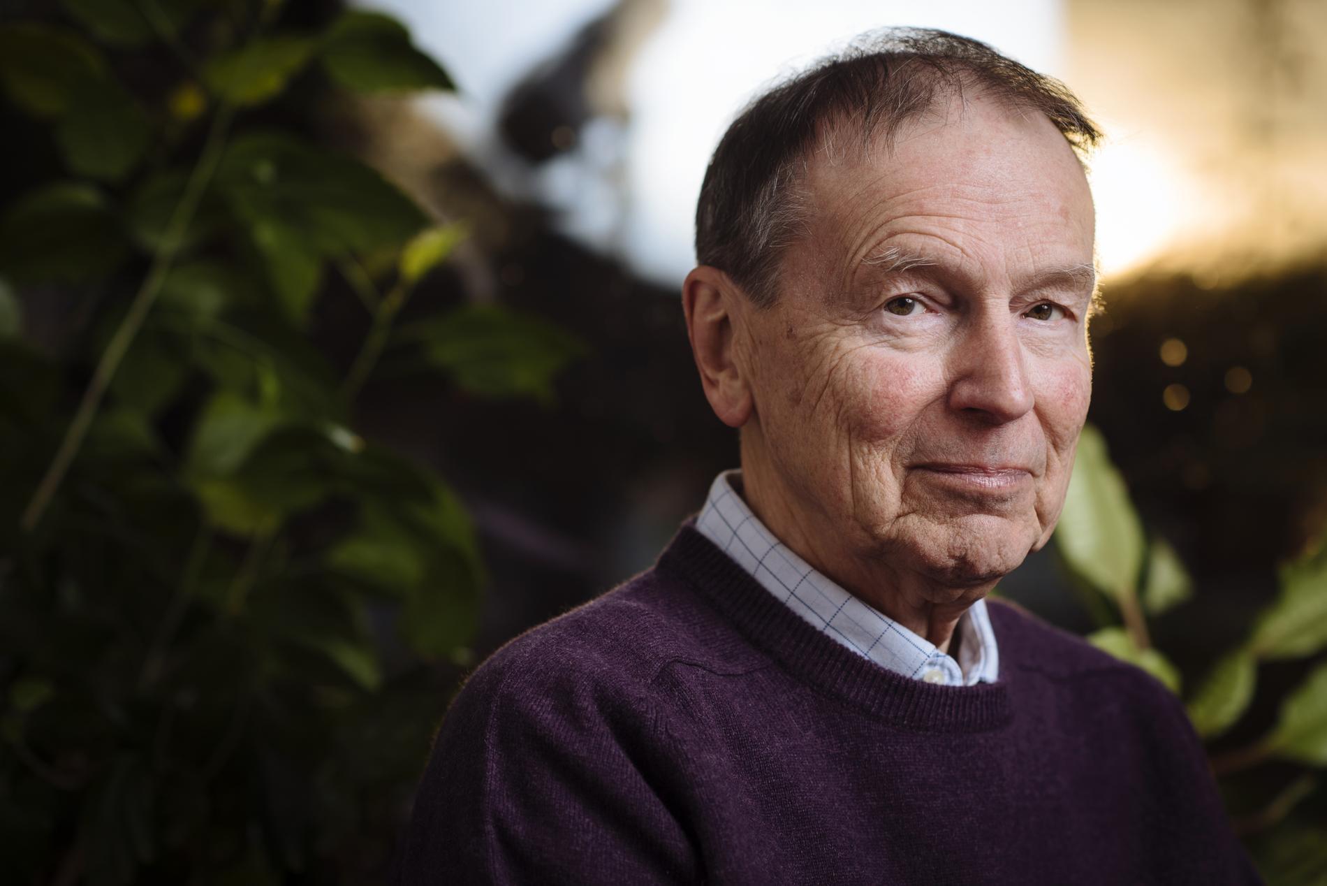 """Göran Sonnevi (född 1939) utkommer med diktsamlingen """"Det osynliga motstyckets bok""""."""