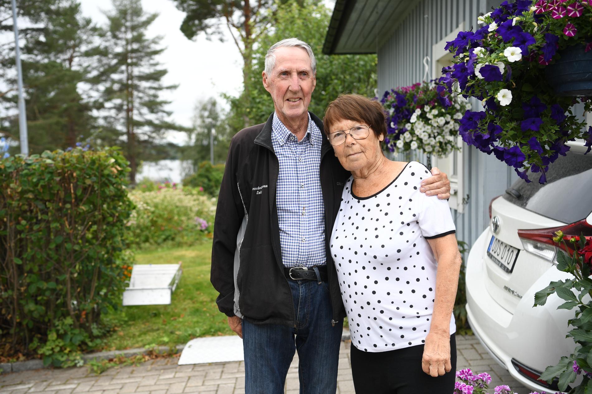 Stig och Margareta hörde skotten.
