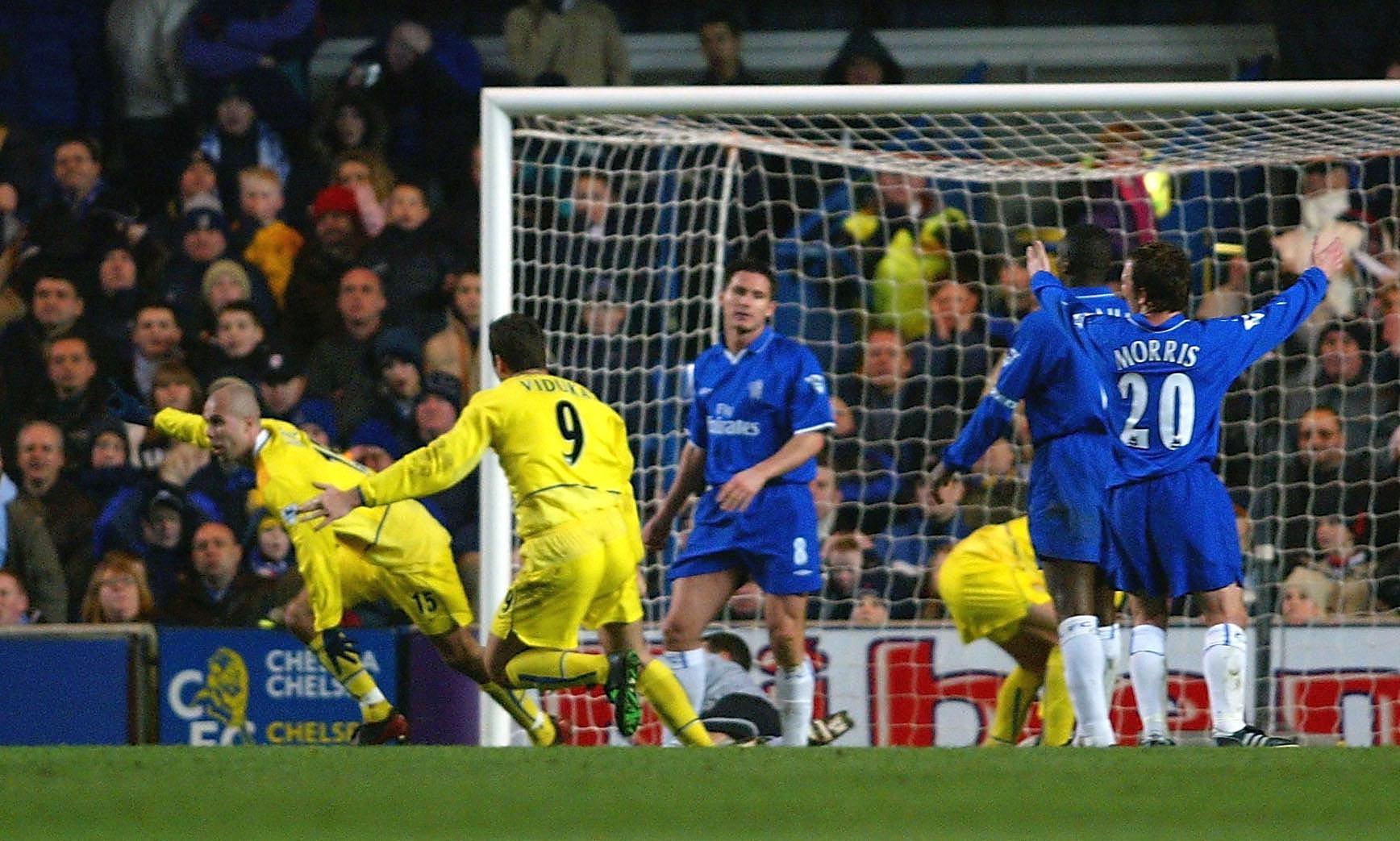 Teddy Lucics mål på Stamford Bridge 2003.