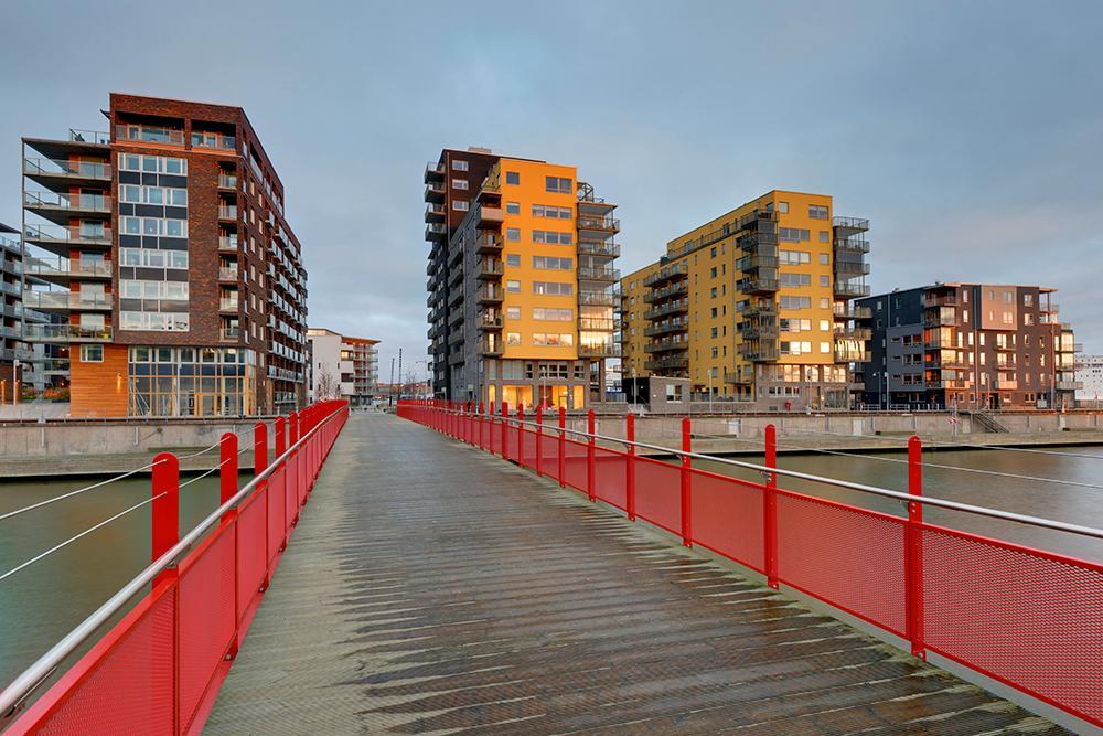 Eriksberg på Hisingen i Göteborg.