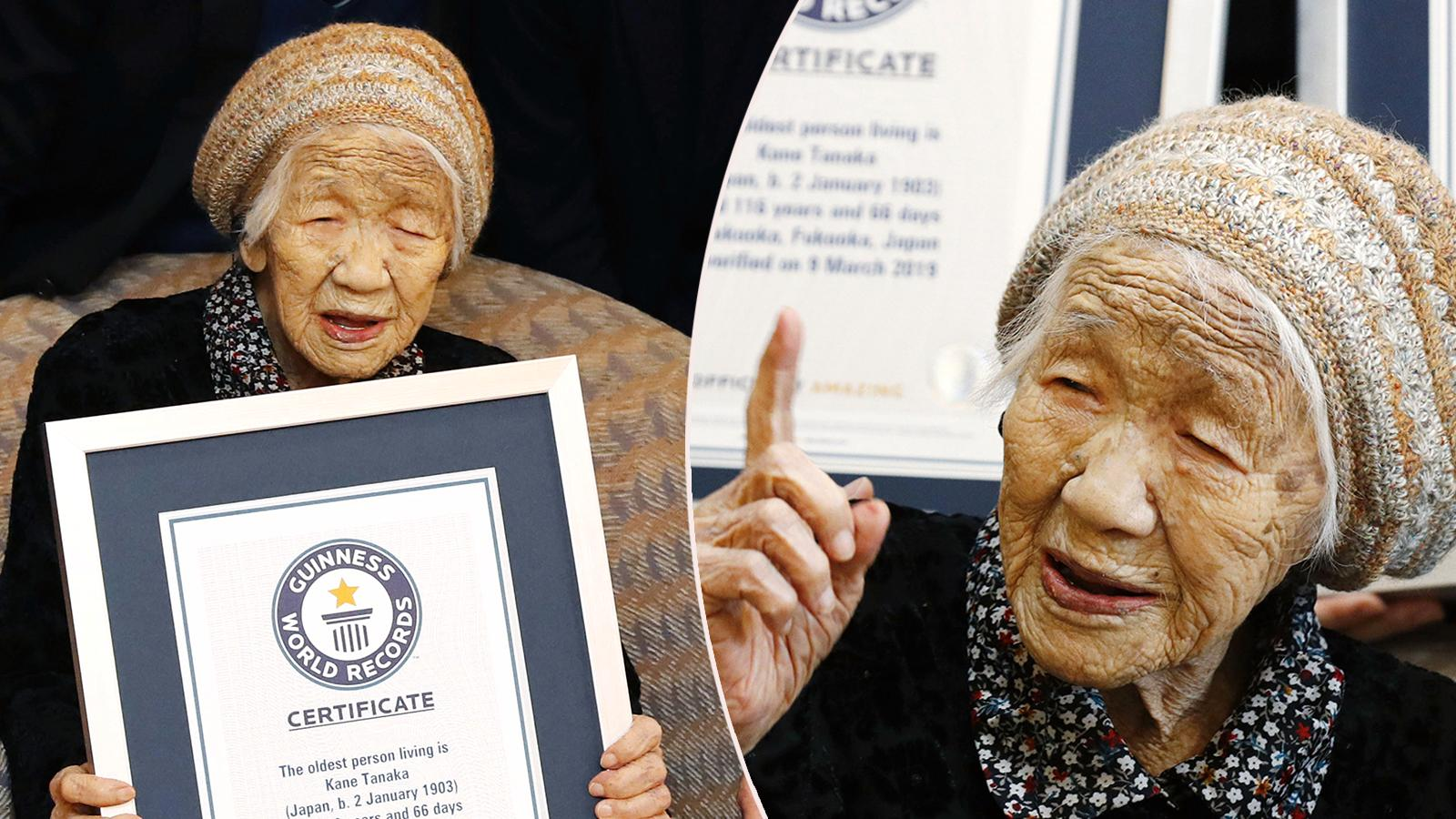 Här är världens äldsta levande person.