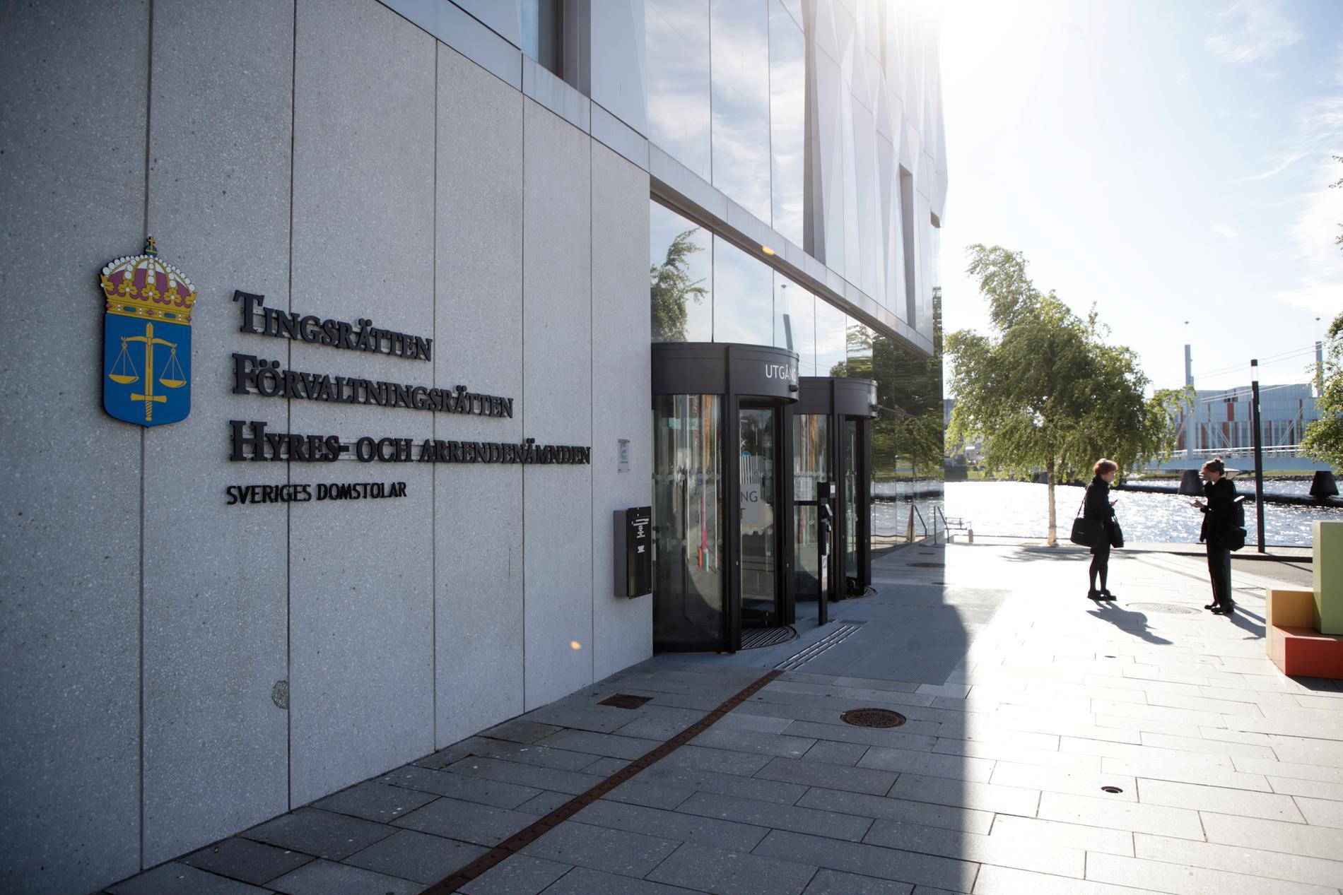 En man i 20-årsåldern häktades på torsdagen vid Jönköpings tingsrätt på sannolika skäl misstänkt för det uppmärksammade mordet i Gislaved 2019. Arkivbild.