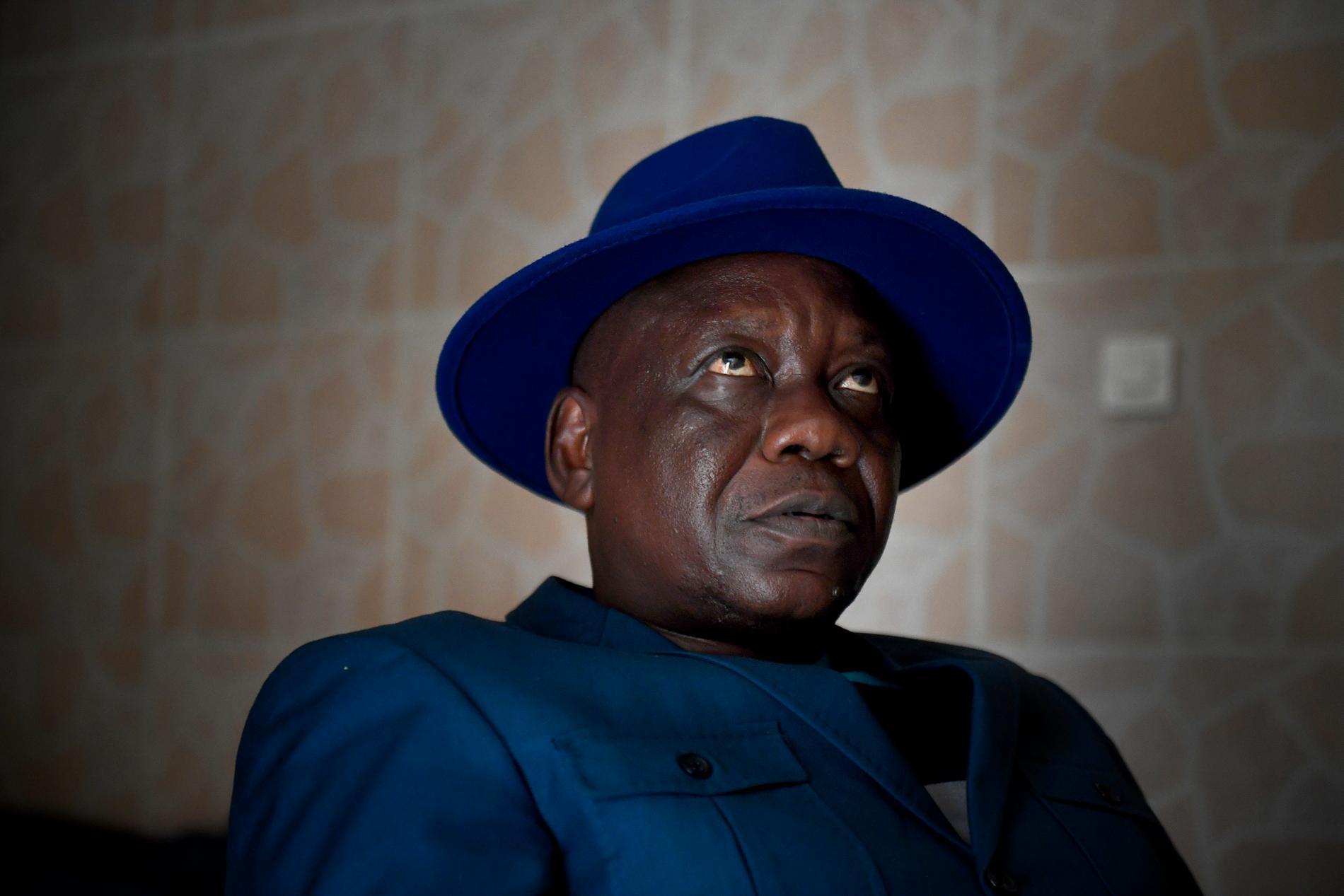 Rene Bula-Bula, militäråklagare, är en av dem som intervjuats av Aftonbladets team i Kongo.