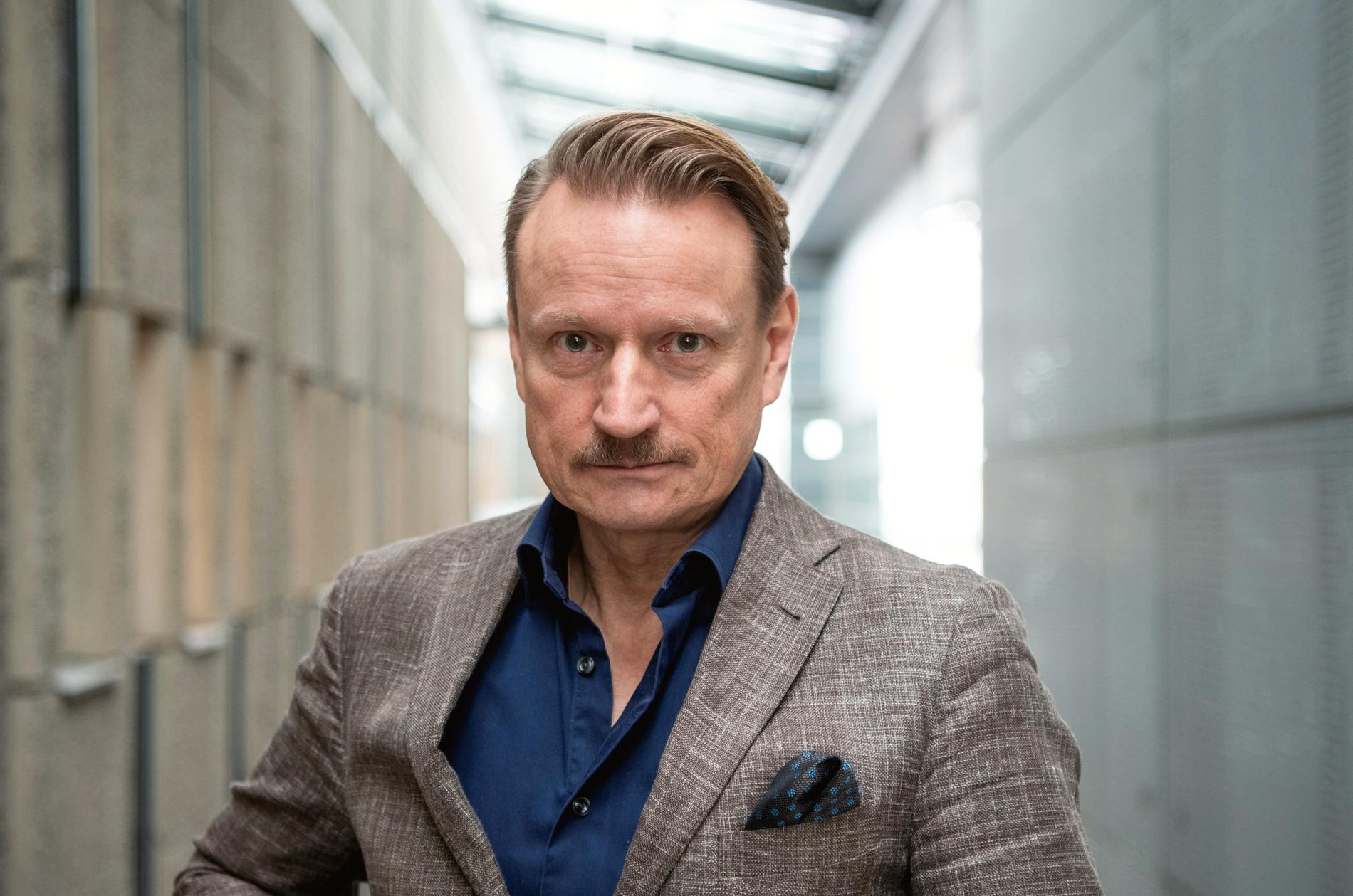 Matti Sällberg, vaccinforskare.
