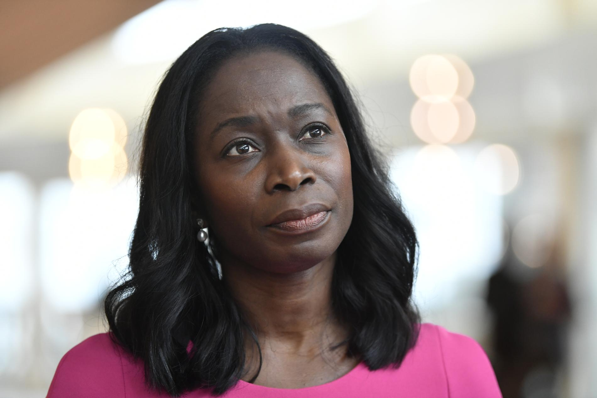 Liberalernas partiledare Nyamko Sabuni.