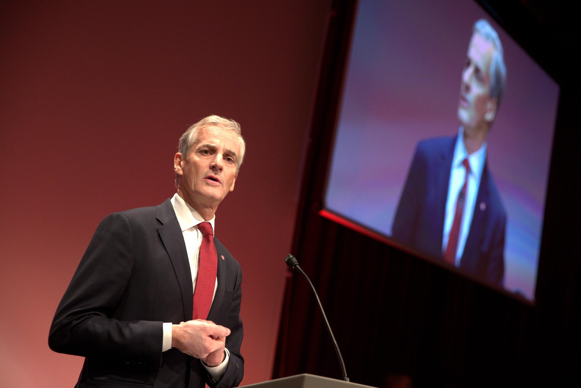 Norges statsminister Jonas Gahr Støre.