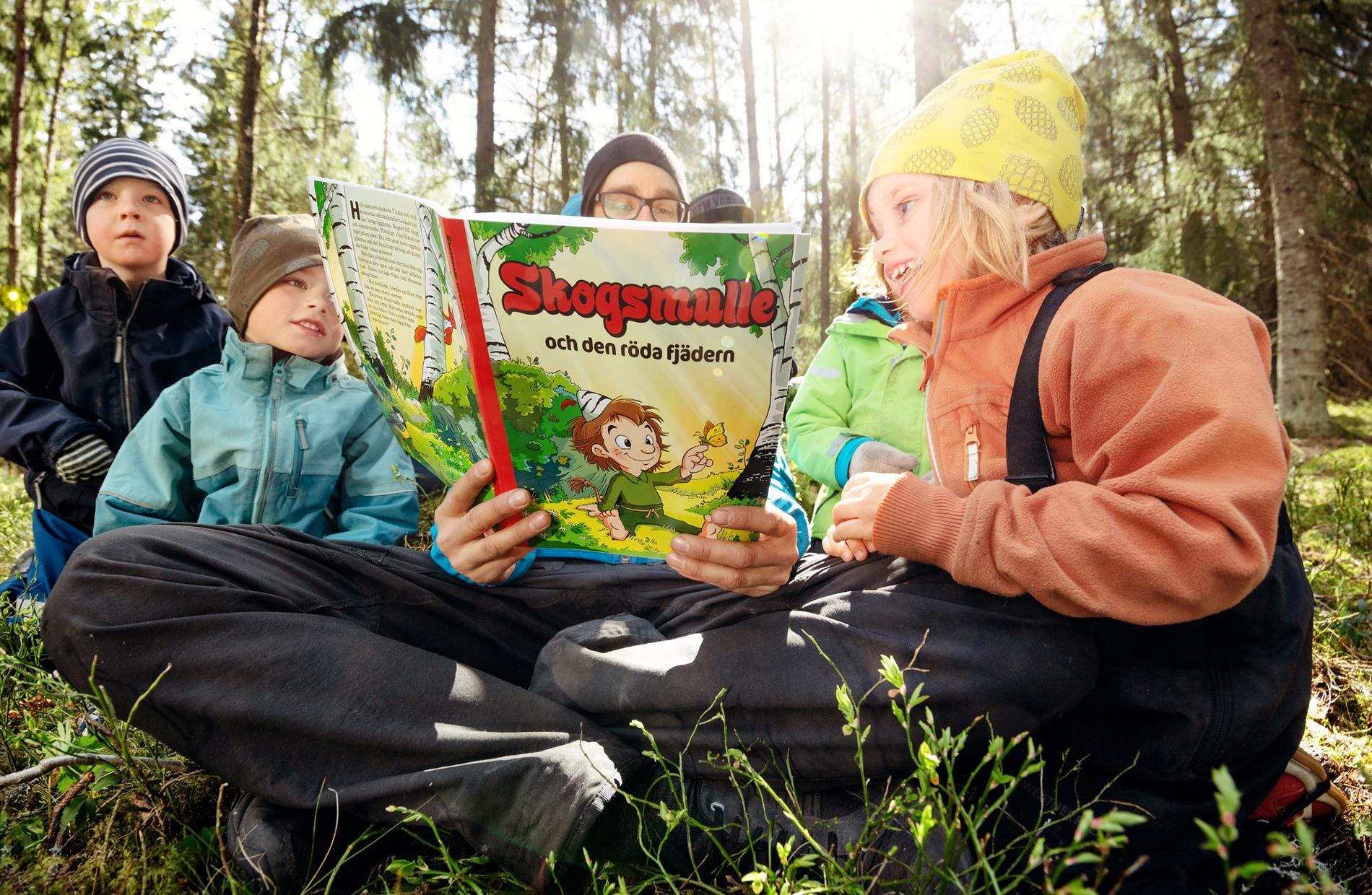 För första gången på 25 år ges en ny bok med Skogsmulle ut.