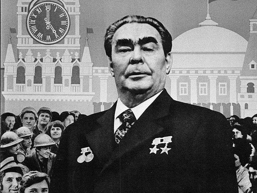 Leonid Brezjnev, sovjetisk ledare 1964–1982.