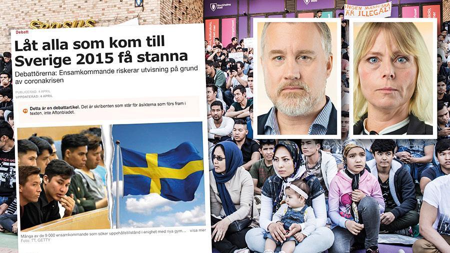 Det finns säkert partier i Sveriges riksdag som på sedvanligt ansvarslöst sätt kan tänka sig ny skräddarsydd lagstiftning och amnestier, SD kommer aldrig att vara ett av dem. Replik från Jonas Andersson och Jennie Åfeldt.