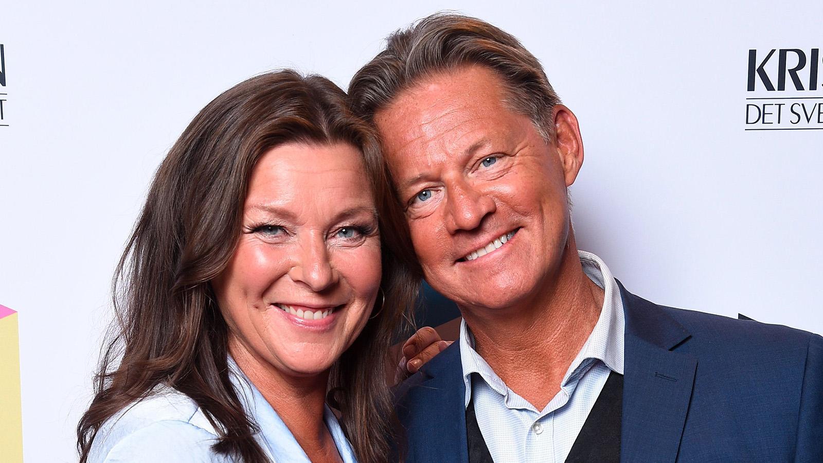 """Lotta Engberg och Mikael """"Soldoktorn"""" Sandström."""