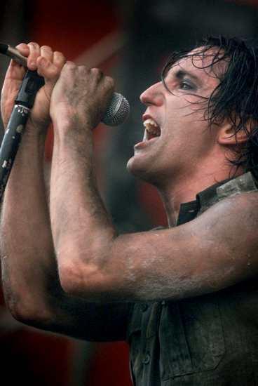 FULLSATT Trent Reznor och hans Nine Inch Nails spelar på årets Hultsfredsfestival.