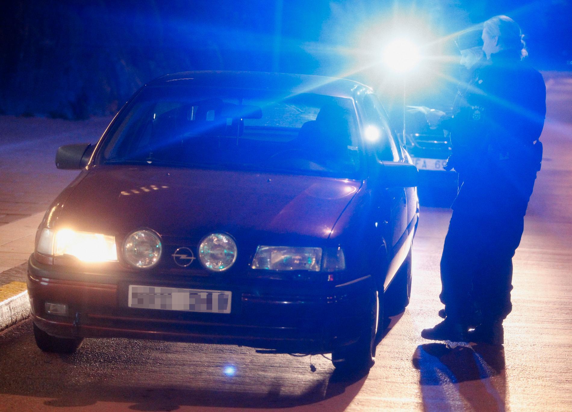 En kvinna i 50-årsåldern blev biten i armen av en manlig svarttaxichaufför i Gävle natten mot söndag. Arkivbild.