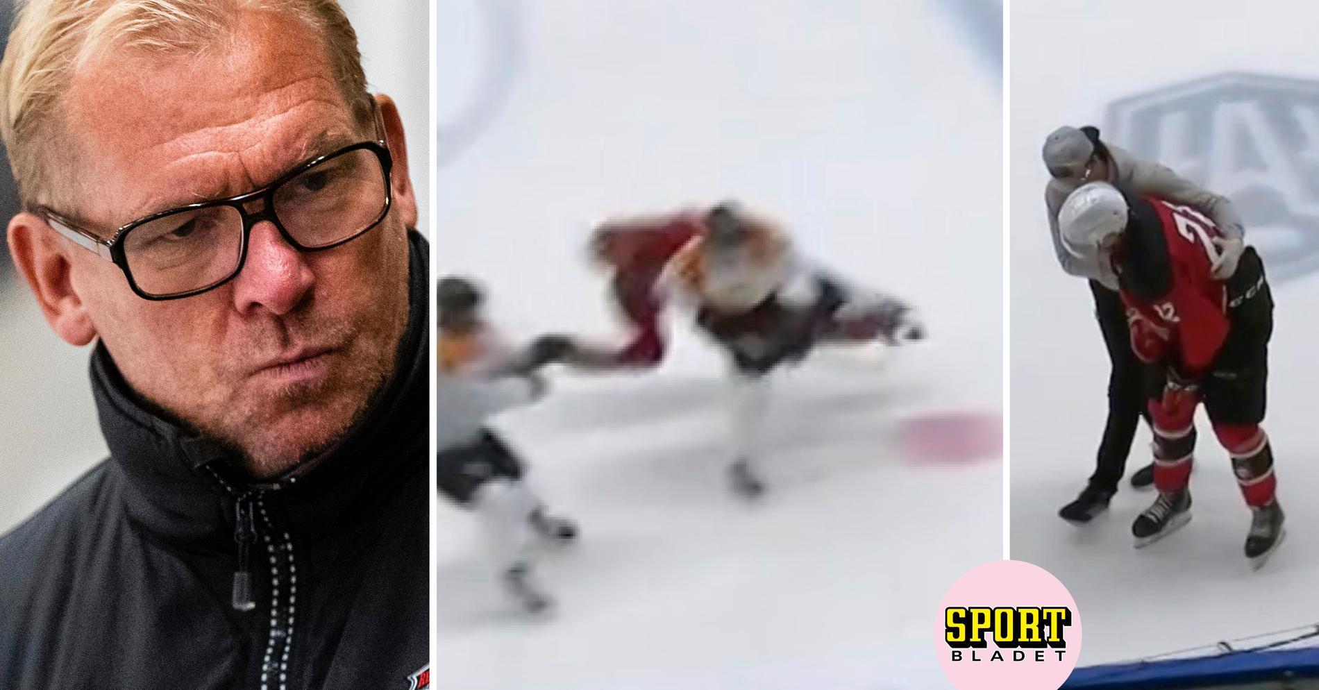"""Sylvegård om huvudtacklingen: """"Vill inte se det i svensk hockey"""""""
