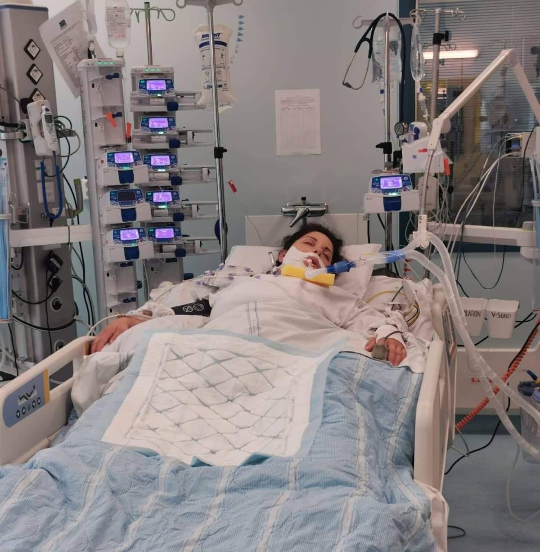 Tillståndet för Lilian var kritiskt, hon svävande mellan liv och död.