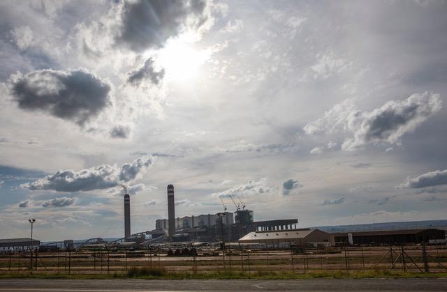 Kolkraftverket Duvha, Sydafrika.