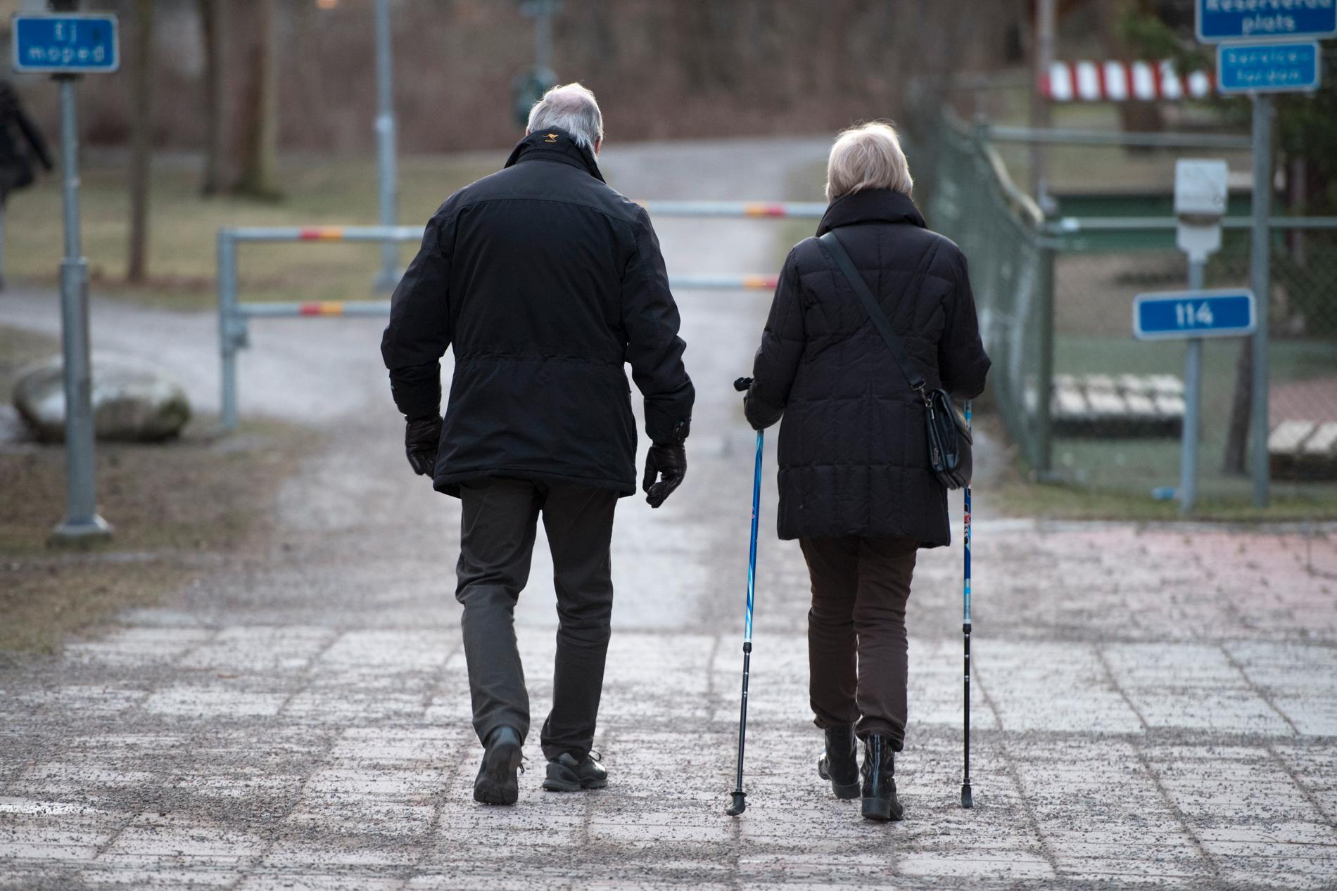 Promenader minskar risken att drabbas av hjärtinfarkt avsevärt, visar en ny studie. Arkivbild.