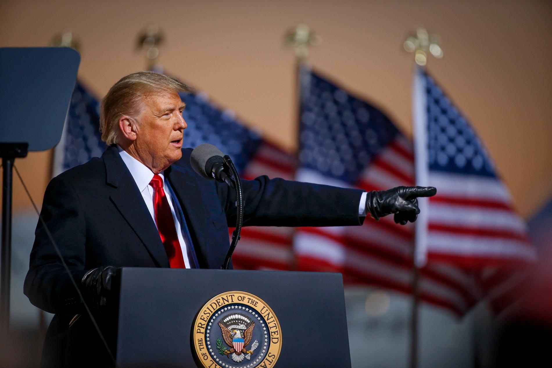 Inför valet 2016 var Donald Trump en outsider.