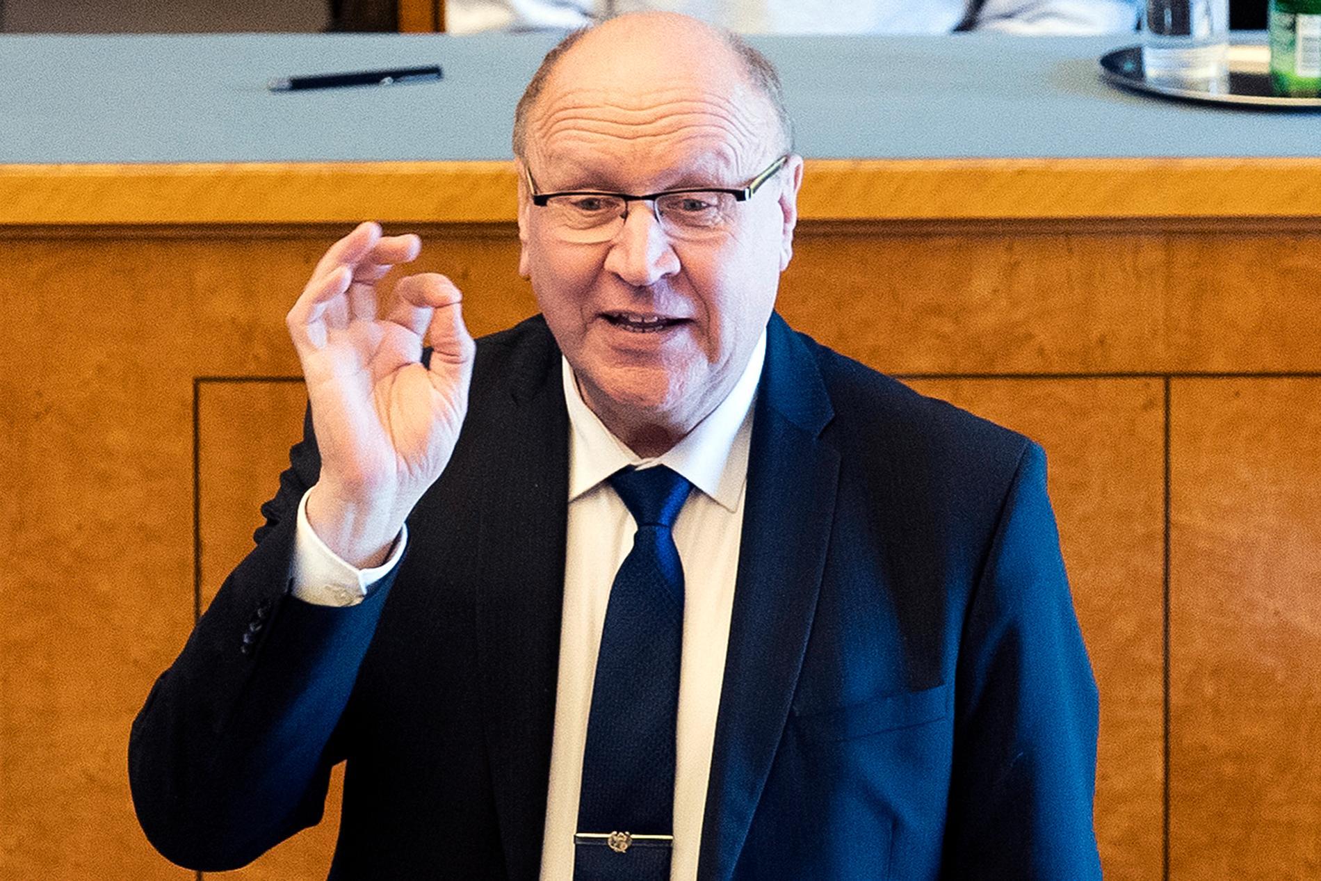 Estlands inrikesminister Mart Helme.