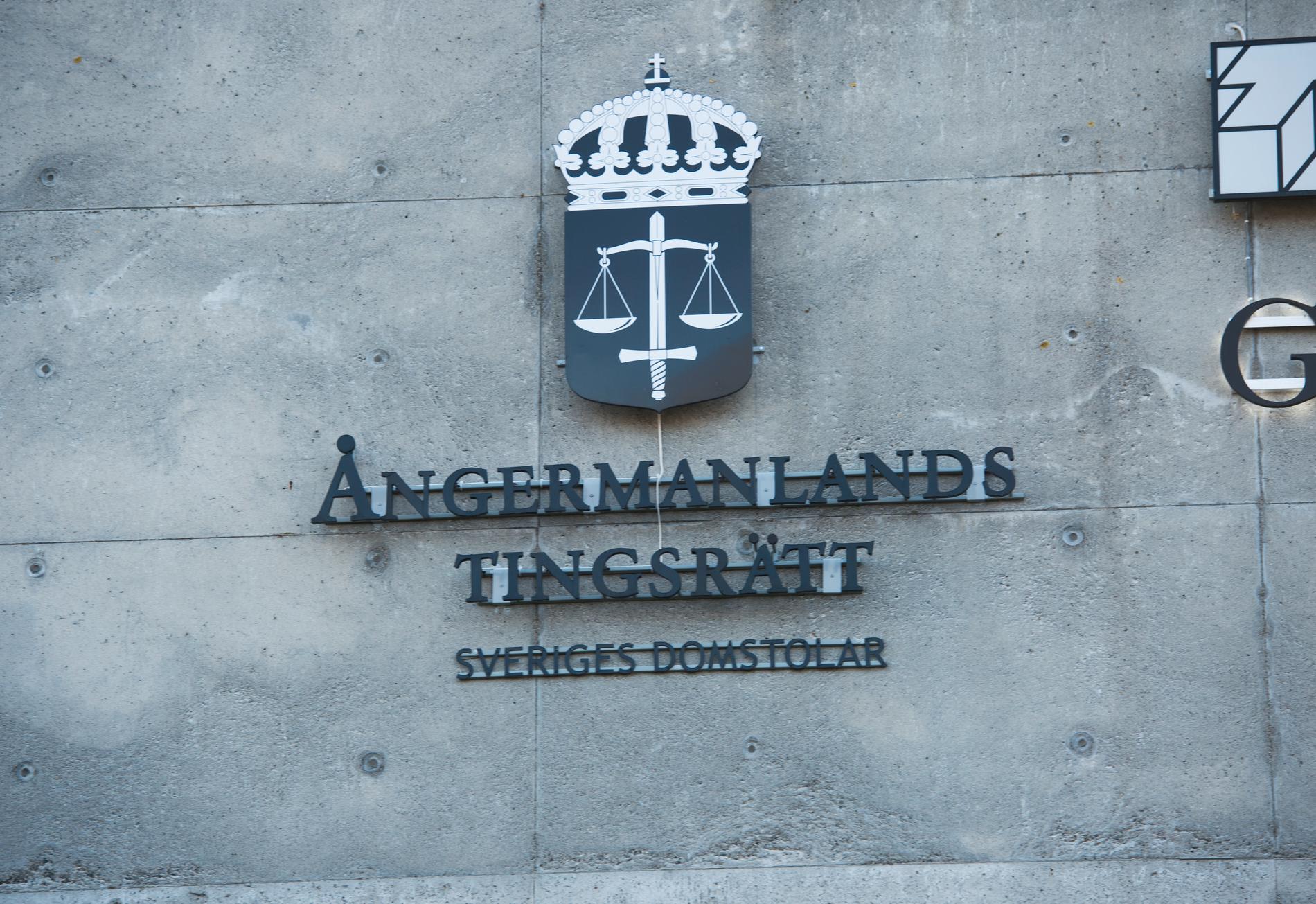 Ångermanlands tingsrätt. Arkivbild.