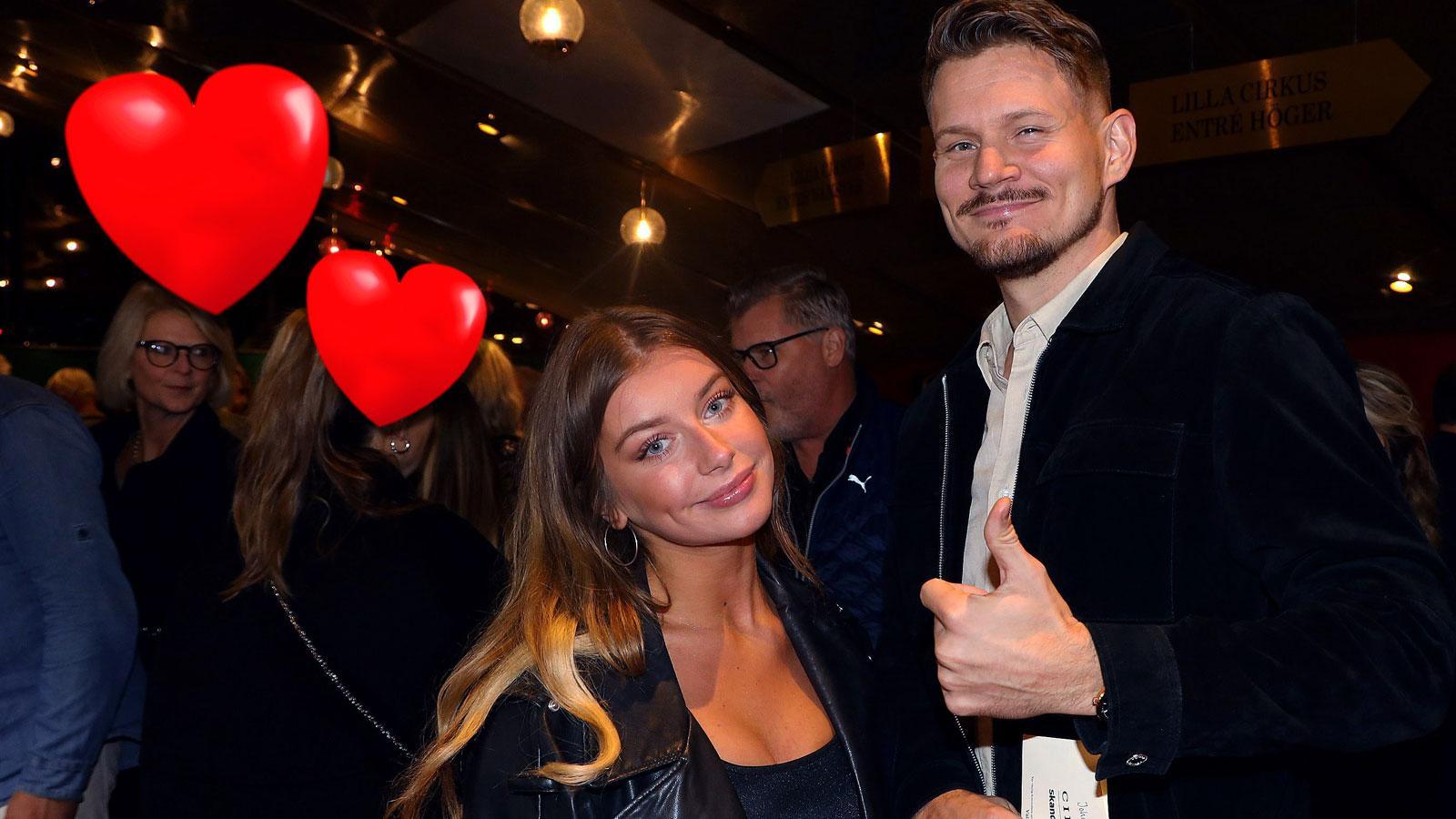 Hanna Ferm och Johan Gunterberg är ett par