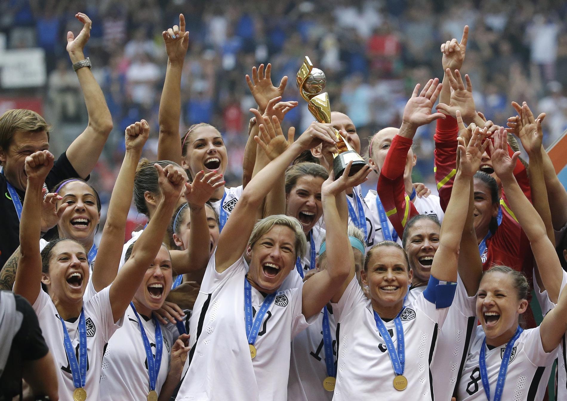 USA vann VM 2015.
