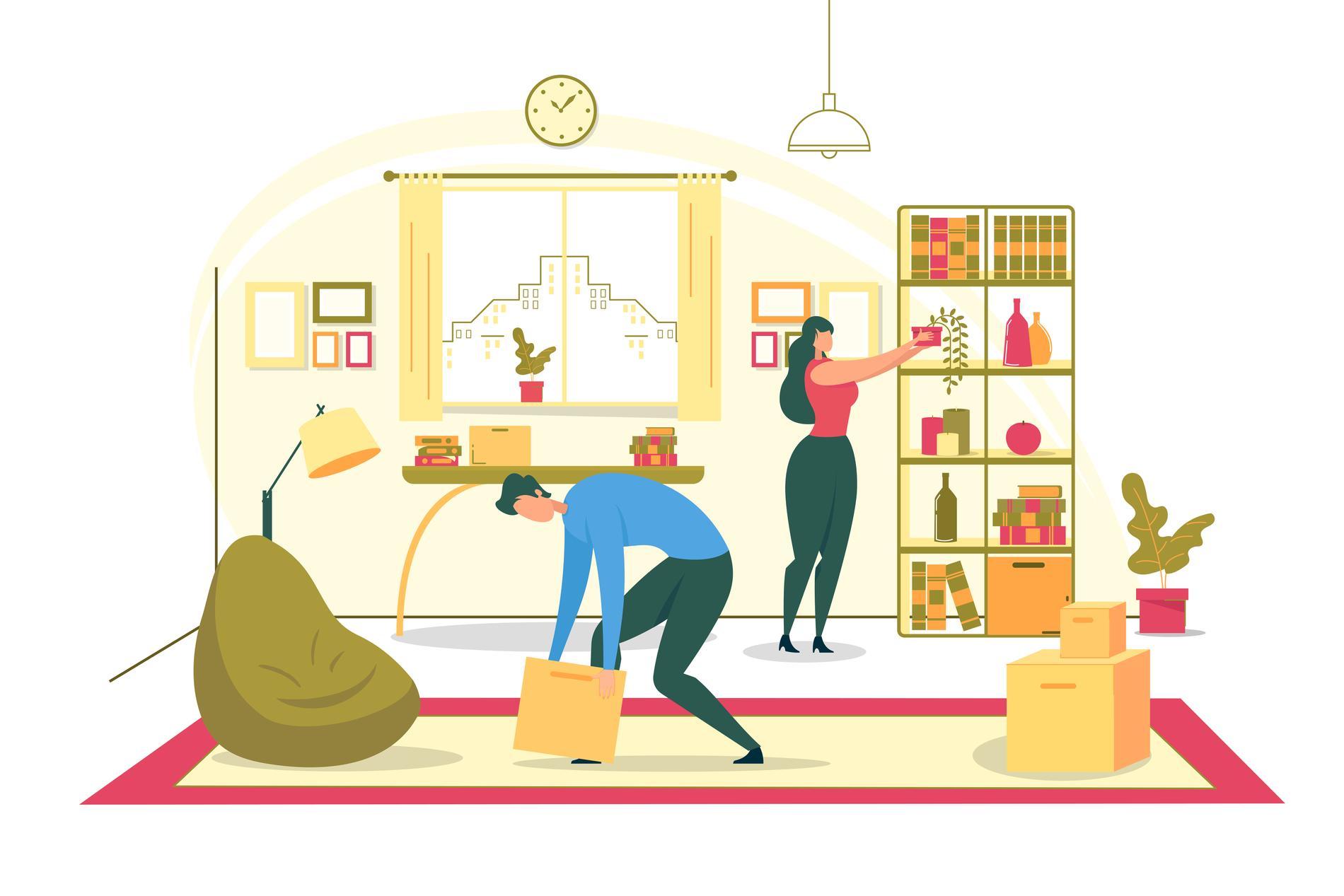 Att byta bostad innebär i regel att du byter förstahandskontrakt med någon.