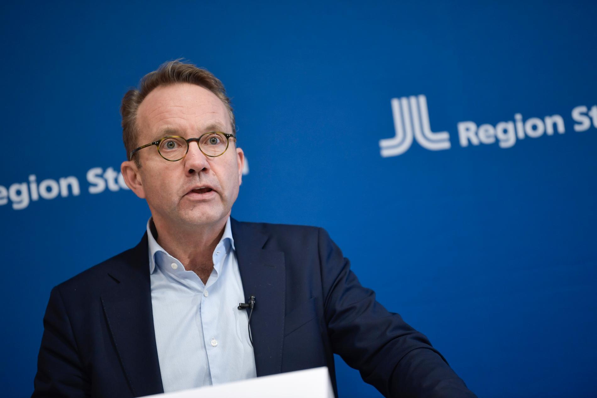 Region Stockholms hälso- och sjukvårdsdirektör Björn Eriksson.