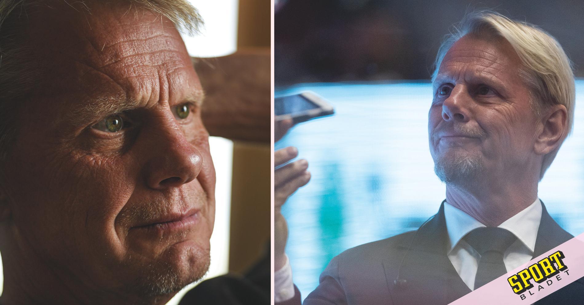 Niklas Wikegård hyllar sin döda pappa med nya skägget