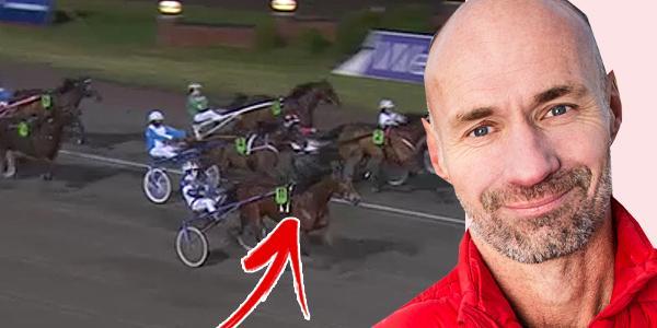 Micke Nybrink varnar för Lucas Laday i jakten på 53 miljoner kronor på V75.