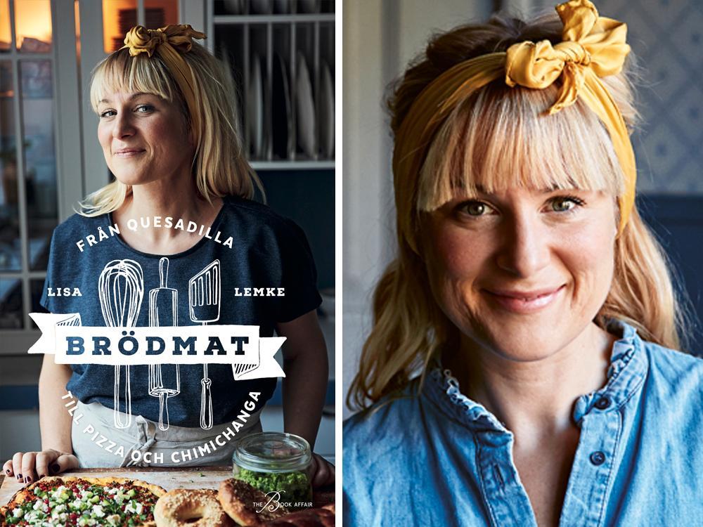 Lisa Lemke och hennes bok Brödmat.