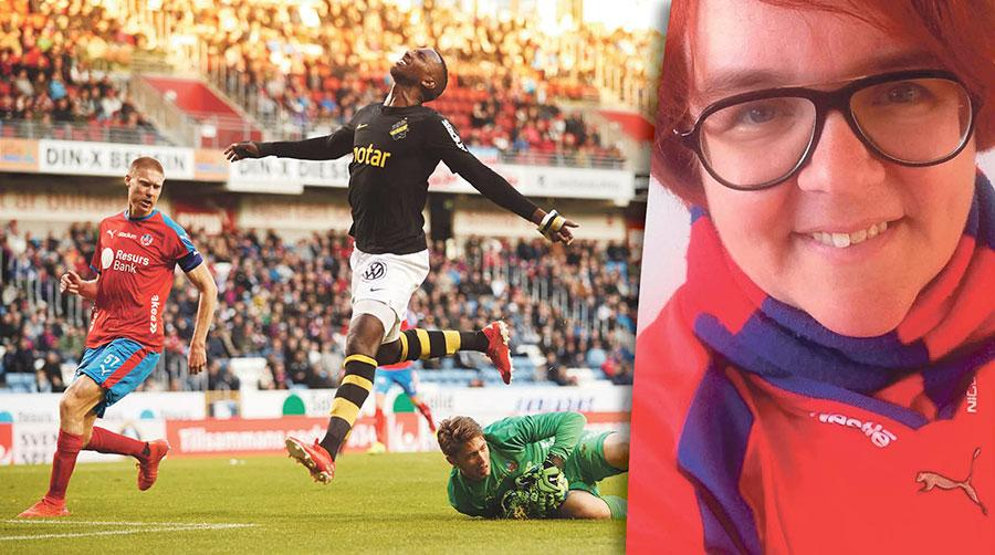 Bland det finaste vi har inom svensk fotboll är passionen och kärleken till vår sport, våra klubbar och den positiva supporterkultur som byggts upp under många år, skriver Emma Wennerholm, HIF-supporter.