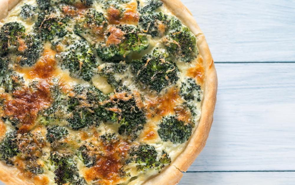 Broccolipaj – matig och mättande.